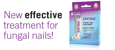 Emtrix for fungal nails