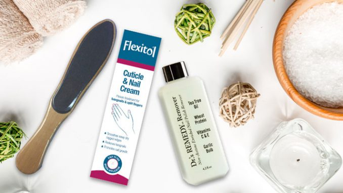 Foot care for dry skin